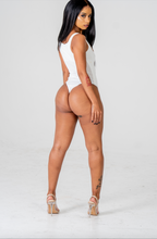 Load image into Gallery viewer, Jahzeel White Bodysuit
