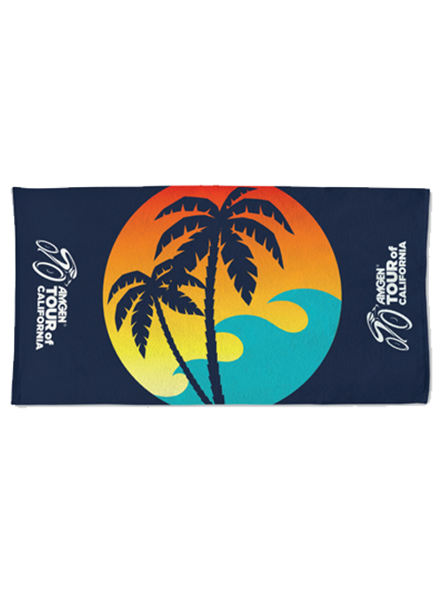 Amgen Tour of California 22 x 42 Locker Room Towel