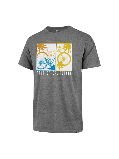 Amgen Tour of California Palm Bike Grid T-Shirt