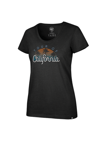 Amgen Tour of California Women's Sunset Scoop T-Shirt