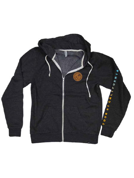 Amgen Tour of California Stan Toc Ambre Full Zip Hoodie