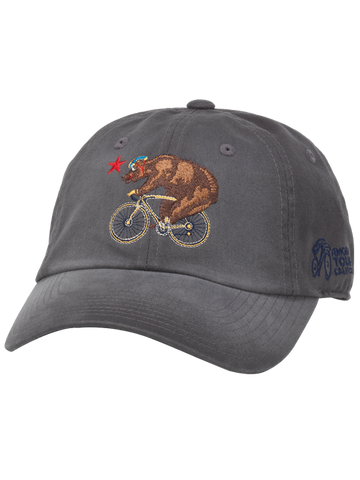 Amgen Tour of California Luther Bear Adjustable Slouch Cap