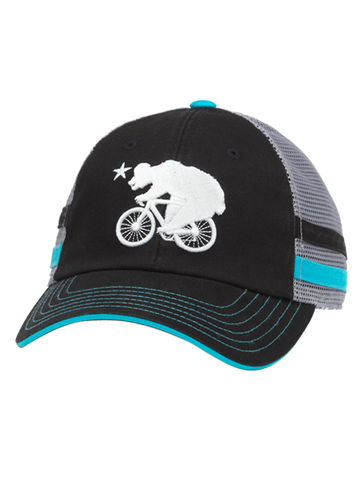 Amgen Tour of California Foundry Striped Bear Adjustable Mesh cap