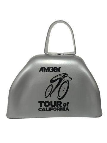 Amgen Tour of California Bear on Bike Cowbell