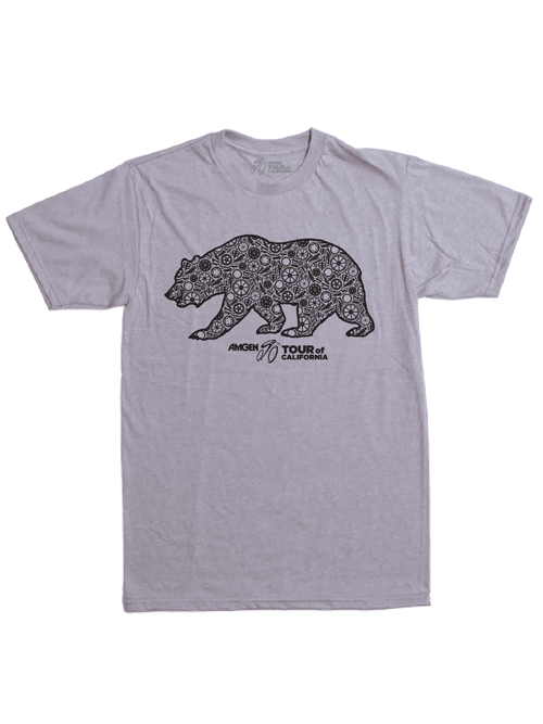 Amgen Tour of California Bear T-Shirt - Gray