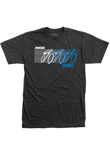 Amgen Tour of California Triple Racer T-Shirt