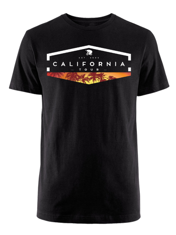 Amgen Tour of California Geo Palm T-Shirt
