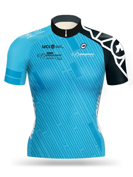 Amgen Tour of California Women's 2017 Breakaway from Cancer®/ Breakaway from Heart DiseaseTM Most Courageous Rider Jersey