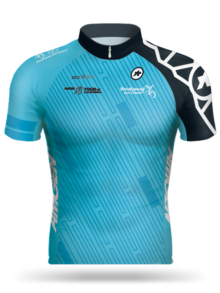 Amgen Tour of California Breakaway from Cancer®/ Breakaway from Heart DiseaseTM 2017 Most Courageous Rider Jersey