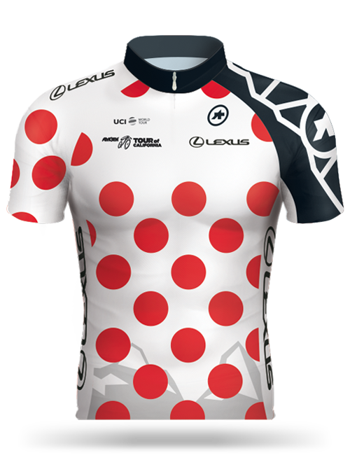 Amgen Tour of California 2017 Lexus King of the Mountain (KOM) Jersey