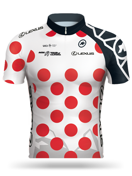 10d6fa4f5 Amgen Tour of California 2017 Lexus King of the Mountain (KOM) Jersey