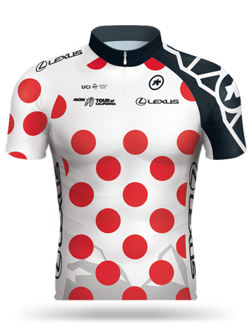 Amgen Tour of California Lexus King of the Mountain (KOM) Jersey