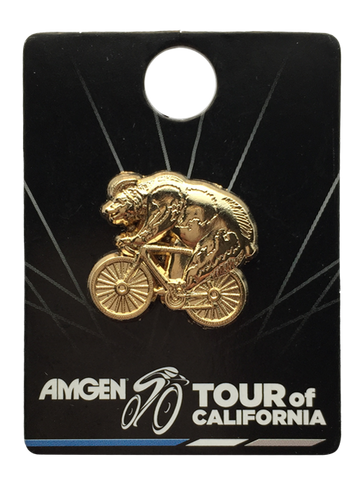 Amgen Tour of California 3D Bear Lapel Pin