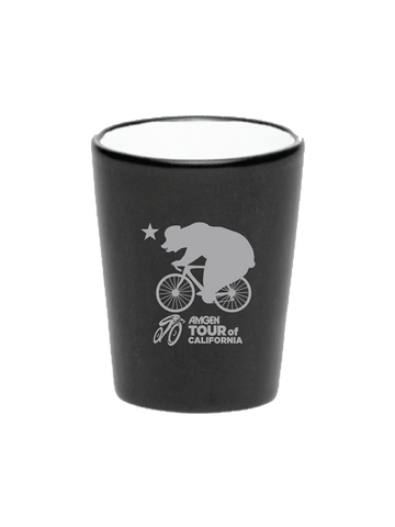 Amgen Tour of California Speedster Bear Shot Glass