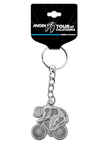 Amgen Tour of California Speedster Bear Keychain