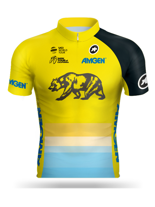 Amgen Tour of California 2018 Leader Jersey