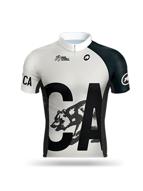 Amgen Tour of California Limited Edition Jersey - Gray/Black