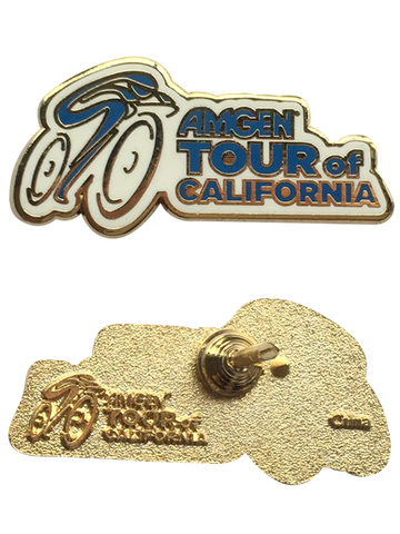 Amgen Tour of California Logo Lapel Pin
