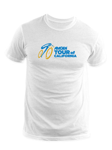 Amgen Tour of California Logo T-Shirt - White
