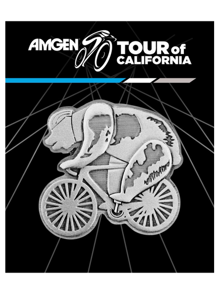 Amgen Tour of California Speedster Bear Magnet