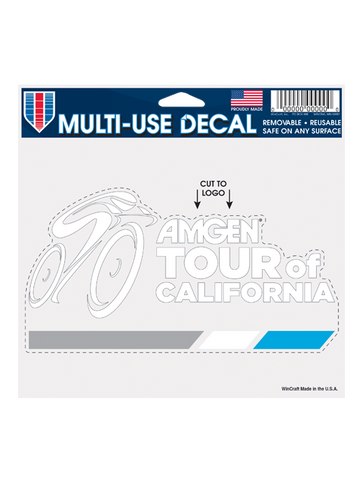 Amgen Tour of California Racer Decal