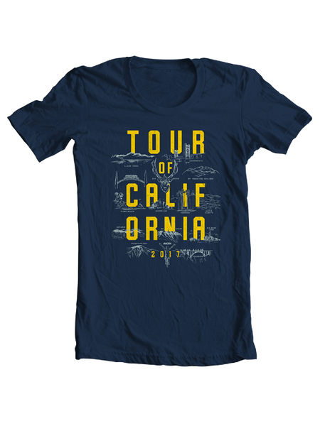 Amgen Tour of California Breakaway From Cancer T-Shirt