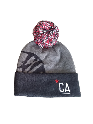 Amgen Tour of California Limited Edition Pom Knit Beanie