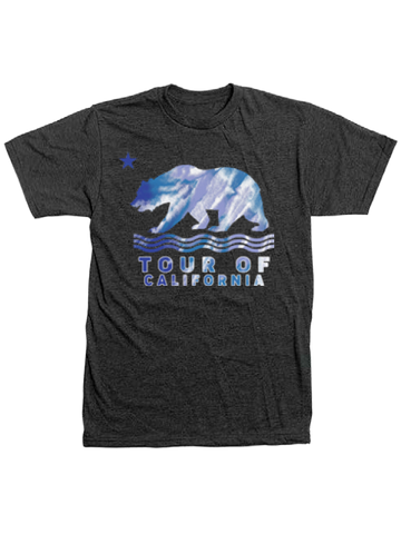 Amgen Tour of California Blue Wave Bear T-Shirt