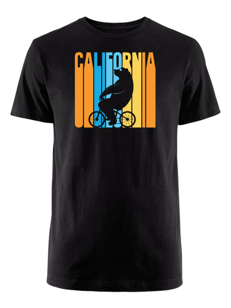 Amgen Tour Of California Retro Cycling Bear T-Shirt