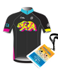 Amgen Tour of California Neon Limited Edition Jersey + Michelob Ultra VIP Club Hospitality Pass Bundle