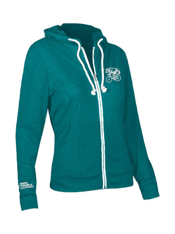 Amgen Tour of California Women's Bear Full Zip Hoodie