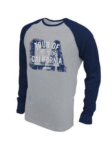 Amgen Tour of California Baseball Raglan Long Sleeve