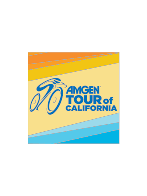 Amgen Tour of California Logo Pin