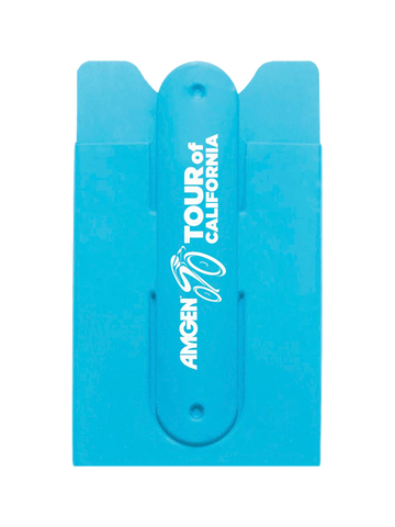 Amgen Tour of California Silicone Card Holder Case