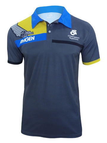 Amgen Tour of California Multi Bear Tech Sublimated Polo