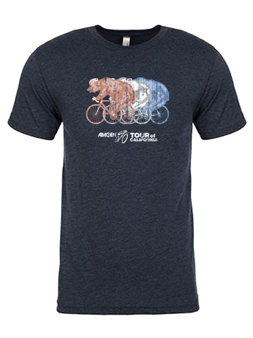 Amgen Tour of California Tri Bear Short Sleeve T-Shirt
