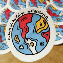Load image into Gallery viewer, Earth Refugees Sticker