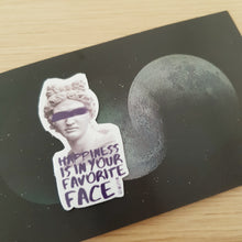 Load image into Gallery viewer, Happiness Statue Sticker
