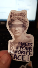 Load and play video in Gallery viewer, Happiness Statue Sticker