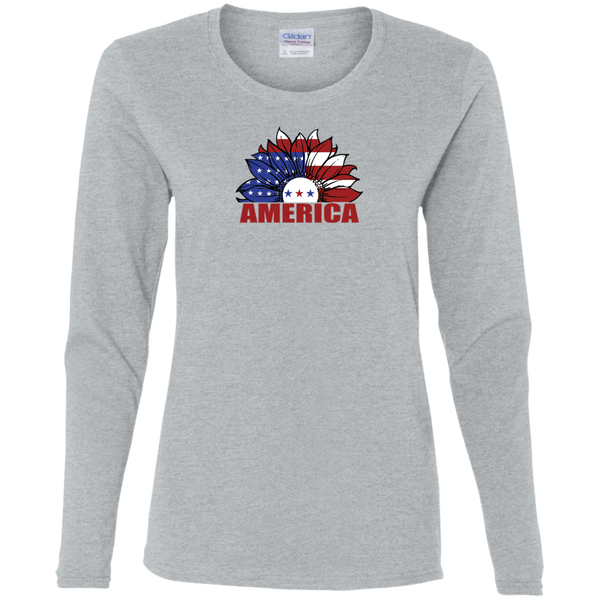 Long Sleeve Shirts Ladies America