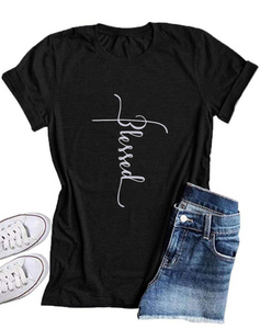Blessed Ladies Cotton T-shirt