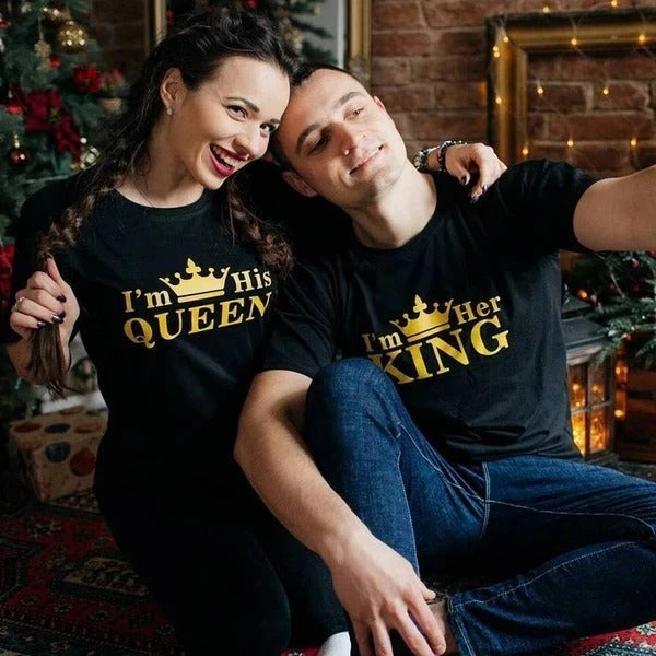 His Queen Her King T-shirts