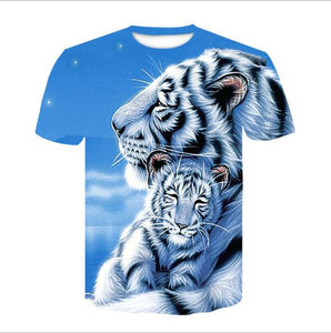White Tiger Graphic Tees