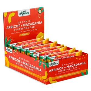 Apricot + Macadamia<br>Superfood Bars<br>12 Pack