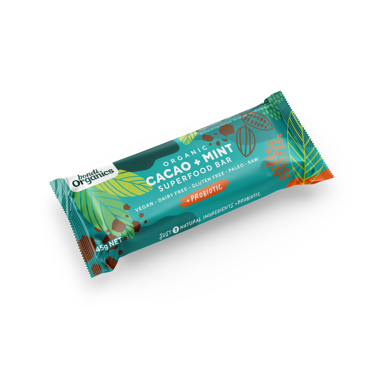 Cacao + Mint Superfood Bars
