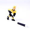 Rod Hockey Player with Plastic Rod attachment, Yellow and Black