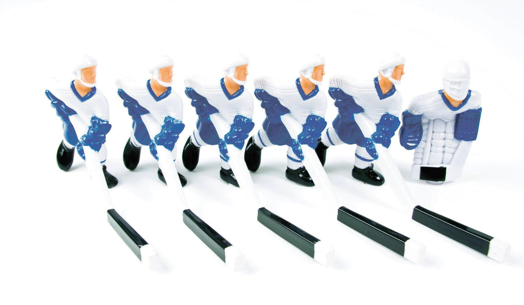 Full Team with Plastic Rod attachment, White and Blue - TEMPORARILY OUT OF STOCK