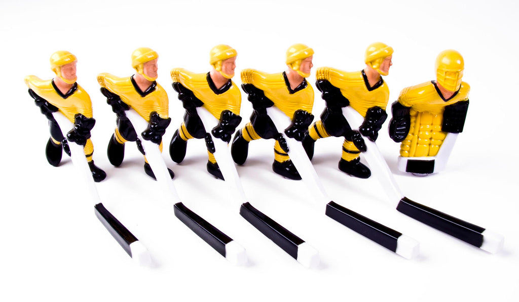 Full Team with Plastic Rod attachment, Yellow and Black