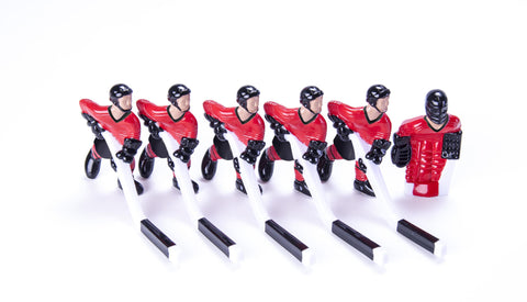 Full Team with Steel Rod attachment, Red and Black