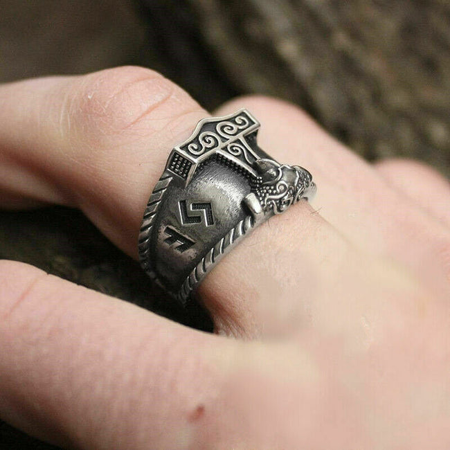 Sons of Odin v2.0 Stainless Steel Ring